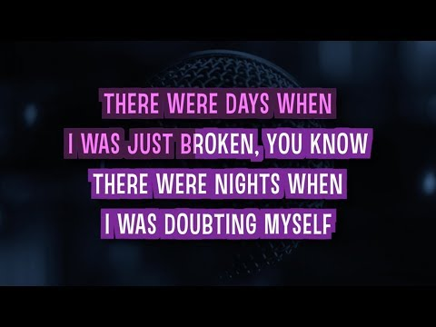 Believe Karaoke Version by Justin Bieber (Video with Lyrics)