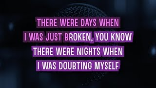 Believe Karaoke Version by Justin Bieber (Video with Lyrics)