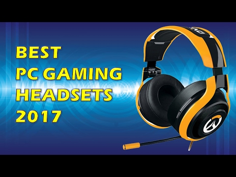Best Gaming Headset Brands 2017 - Top 10 Gaming Headsets - YouTube