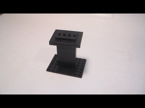 How To Build A Lego Display Stand Youtube