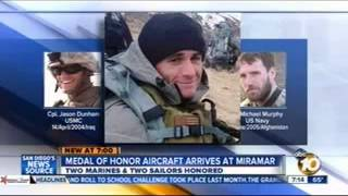 ABC (KGTV) - Medal of Honor Aircraft