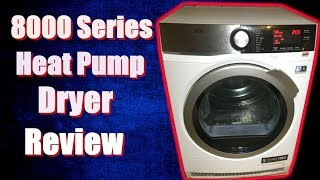AEG 8000 Series T8DEC946R Tumble Dryer Review & Demonstration