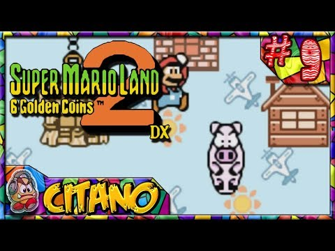 Let's Play Super Mario Land 2 DX - #9: Coin of the Three Little Pigheads