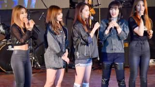 [Fancam/직캠]150521 포미닛(4minute) Talk @동의대