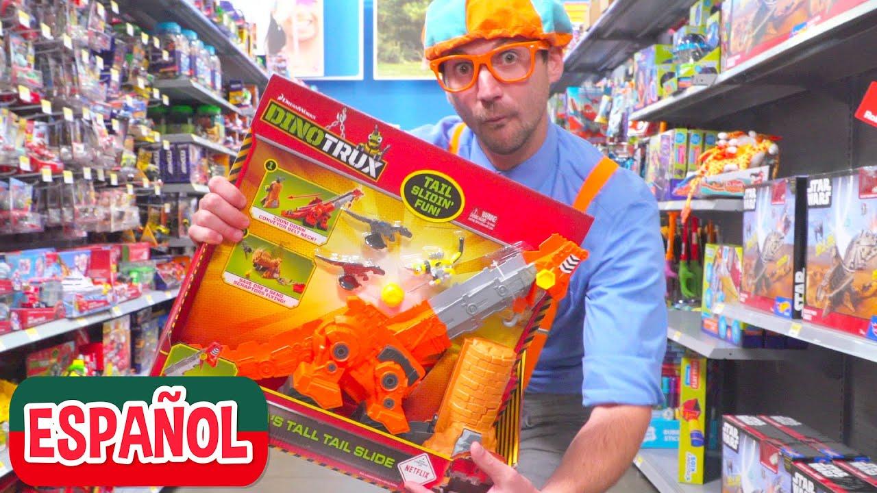 Aprende colores en la juguetería con Blippi Español | Videos Educativos para Niños Pequeños