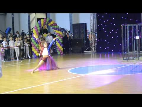 Macedonia open 2017/ Eva Karamanovska - Harley Quinn - 1st place show dance