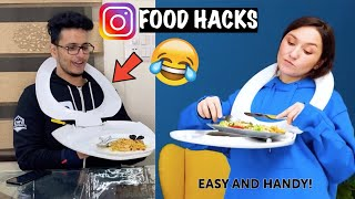 I Found The Worst Food Hacks and Actually Tried Them!!