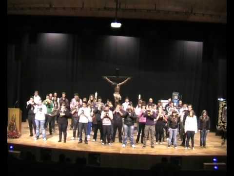 Ensayo PREGÓN SEMANA SANTA 2012 (1)- Banda del Stmo. Cristo de la Agonía (Albacete)