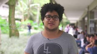 UdeA - Álvaro saluda al profe Juanito. Día del Maestro 2018