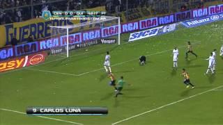 Gol de Luna. Rosario Central 1 - Quilmes 0. Fecha 1. Torneo Inicial 2013. Fútbol Para Todos