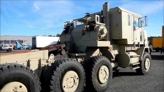 Oshkosh Heavy Equipment Transporter