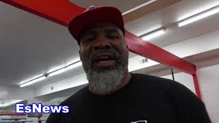 "Shannon Briggs ""Wilder & Fury Going To Sleep!"" -- EsNews Boxing"