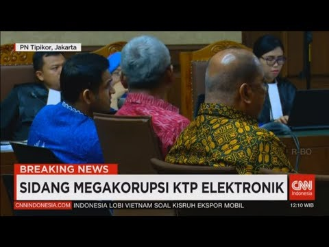Breaking News! Kesaksian Nazarudin di Sidang Megakorupsi KTP Elektronik, Setya Novanto