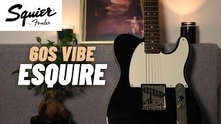 Squier CUSTOM ESQUIRE FSR | Classic Vibe 60s | Demo
