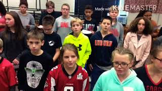 Central middle chorus/Hawks 2017