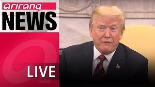 [LIVE/ARIRANG NEWS] Trump cancels summit with North Korean leader Kim Jong-un - 2018.05.25