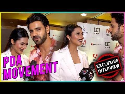Divyanka Tripathi And Vivek Dahiya CUTE Interview - PDA MOMENT - Exclusive Interview | TellyMasala