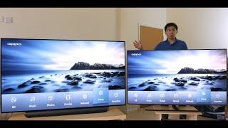 LG C8 OLED vs Samsung Q9FN QLED 2018 TV Comparison