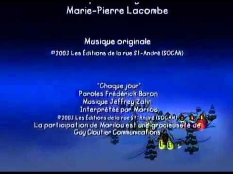 Vive les Fetes! Un Film Avec Caillou End Credits Warner Home Video Version