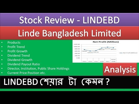 Linde Bangladesh Limited | LINDEBD | Stock Review | Company Review | Dhaka Stock Exchange (DSE)