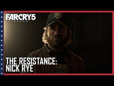 Far Cry 5: Official The Resistance: Nick Rye Trailer | Ubisoft [US]