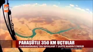 ALBATROS: 343,5 km Yamaç Paraşütü Rekor Uçuşu ATV Ana Haber'de