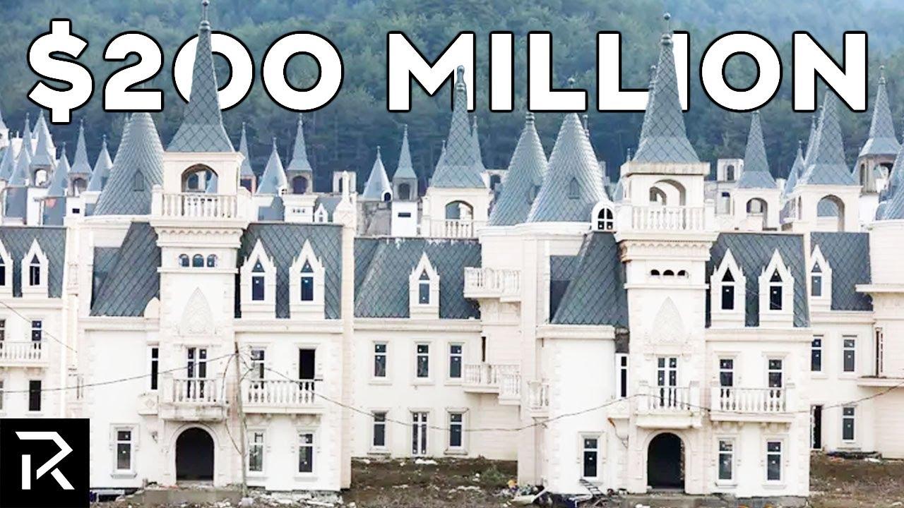 Inside Turkey's $200 Million Dollar Abandoned Castles