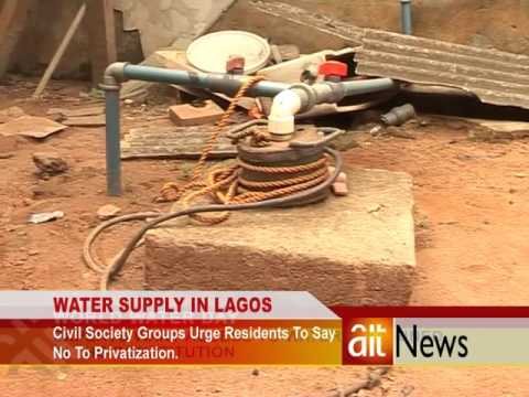 WATER SUPPLY IN LAGOS