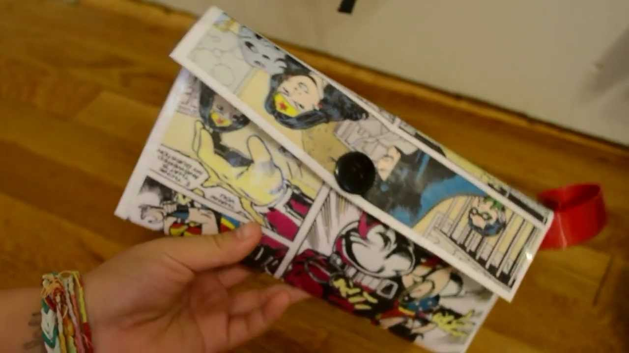 diy comic book desk. Diy Comic Book Desk. Easy Clutch Everythingjess Youtube Desk C