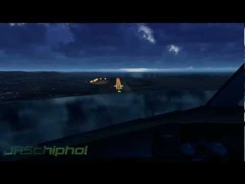 FS9 Thomas Cook 757-200 Landing at Ibiza (1080p)