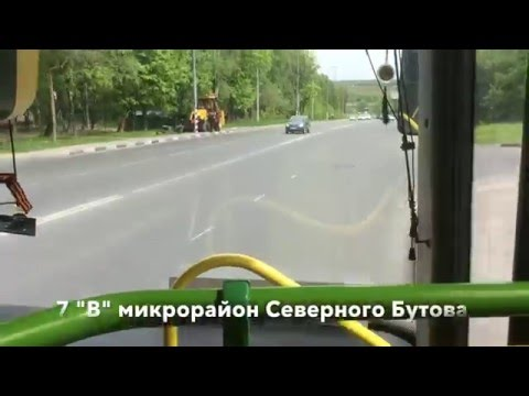 "1004: от метро ""Бульвар Дмитрия Донского"" до Каменки"