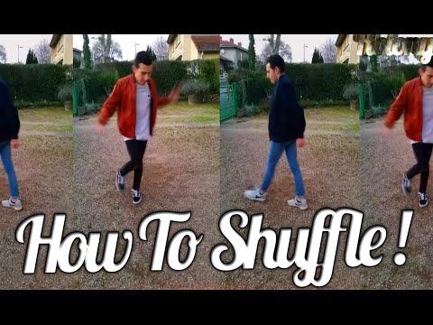 HOW TO SHUFFLE DANCE / CUTTING SHAPES ! ( TUTORIAL )