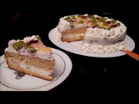 ❤️-gâteaux-d'anniversaire-à-l'ananas-et-à-la-chantilly