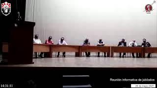 Reunión informativa de jubilados 26 de mayo 2021