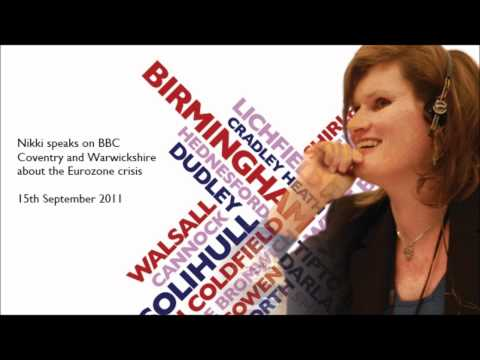 Nikki speaks on BBC Coventry and Warwickshire Interview about the Eurozone crisis