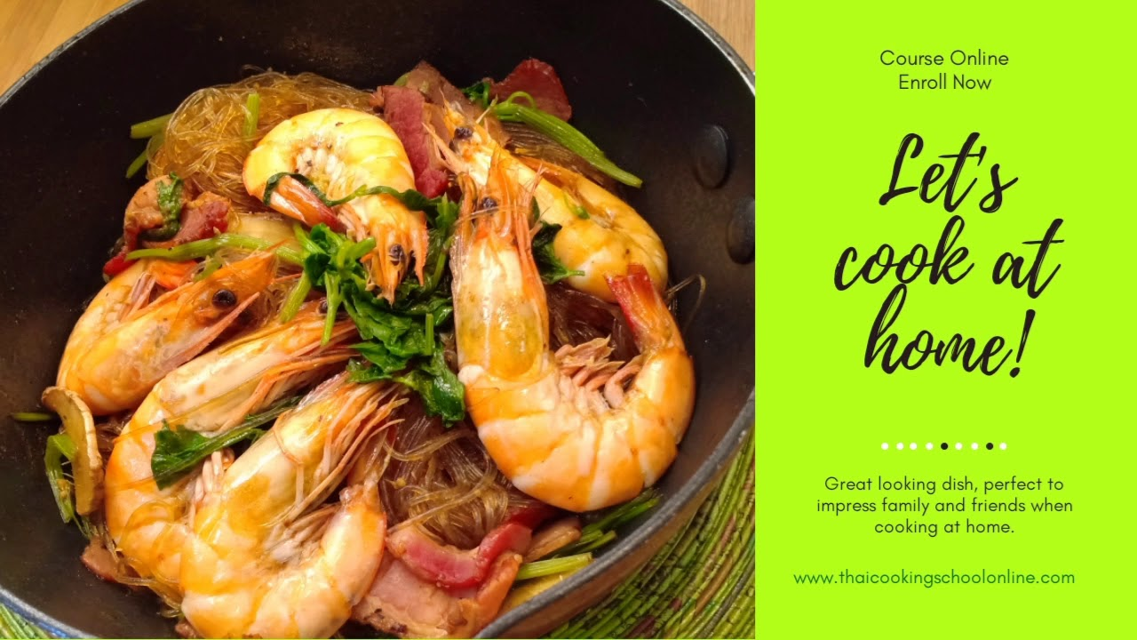 Cook at Home Thai Food and easy recipe Course online