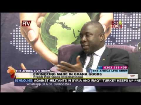 Promoting Made In Ghana Goods   Fresh Pak Goes International
