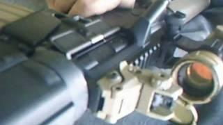WE M16A3 オープンボルトGBB改撃ちまくり thumbnail