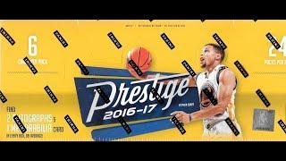 2016 17 Panini Prestige Basketball Hobby Box Break / 3 Hits