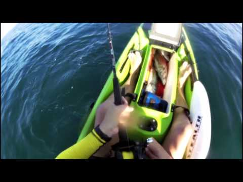 Kayak fishing - Robben Island