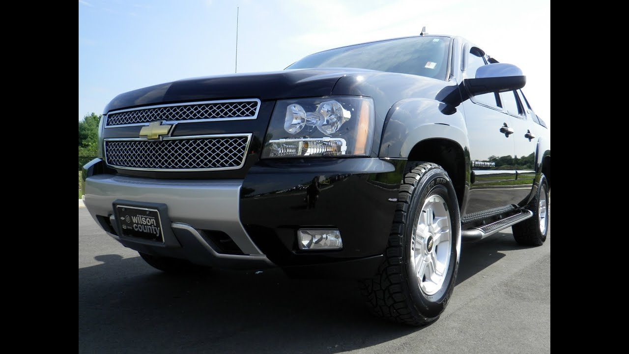Sold2008 chevrolet avalanche ltz z71 4x4 black on black 53 sold2008 chevrolet avalanche ltz z71 4x4 black on black 53 vortec 71k at wilson county chevrolet youtube sciox Image collections