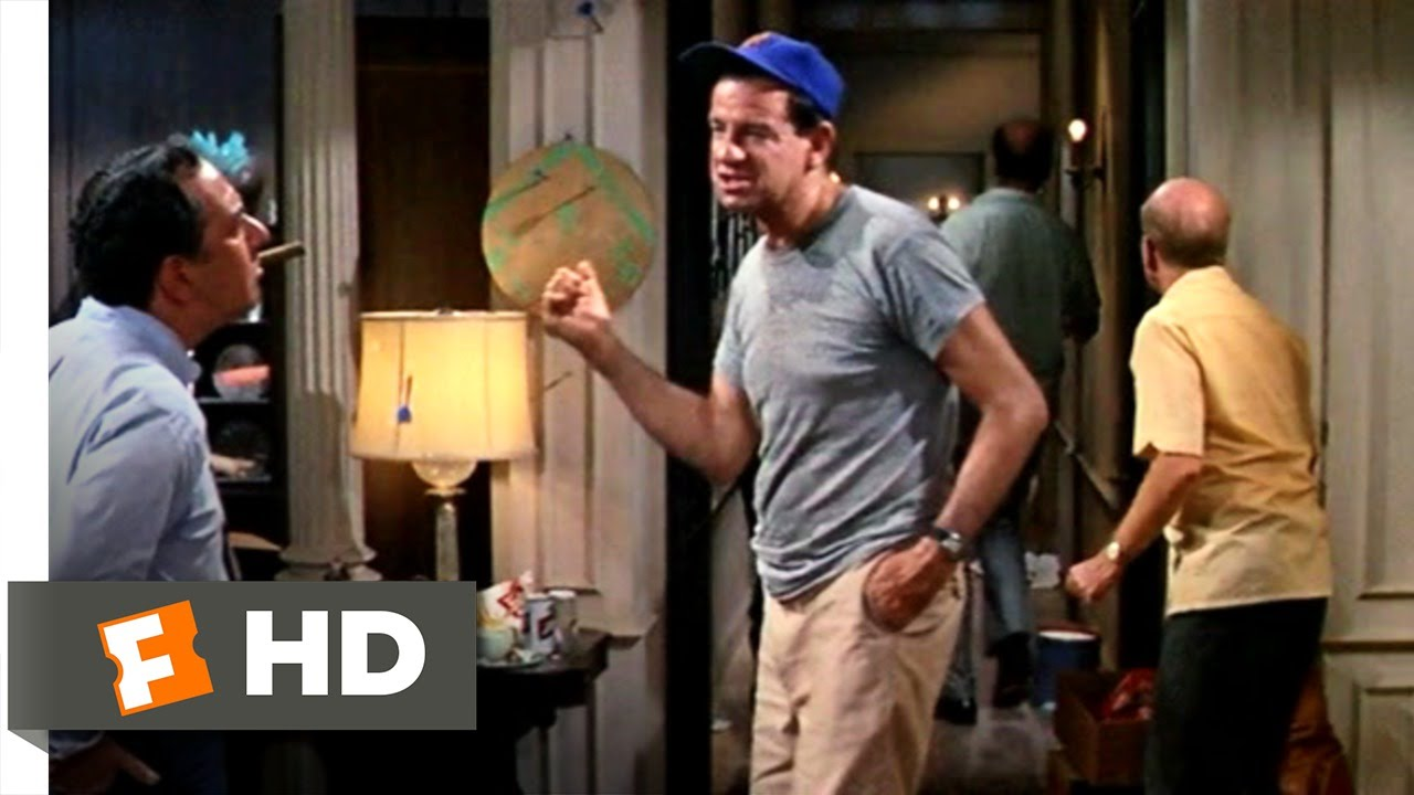 Download The Odd Couple (2/8) Movie CLIP - Felix Crying in Bathroom (1968) HD