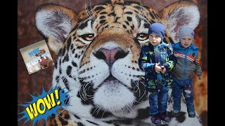 Ленинградский Зоопарк Жираф Тигры Львы Медведь Развивающее видео Часть 2 Leningrad Zoo Tigers Lions