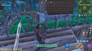 FORTNITE FPS TEST SEASON 7:RYZEN 5 2400G GTX 1050 8GB RAM