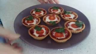 тарталетки-пицца