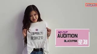 Download lagu [ENG SUB] BLACKPINK Rose No Cut Audition for Fantastic Duo 2 (170804)
