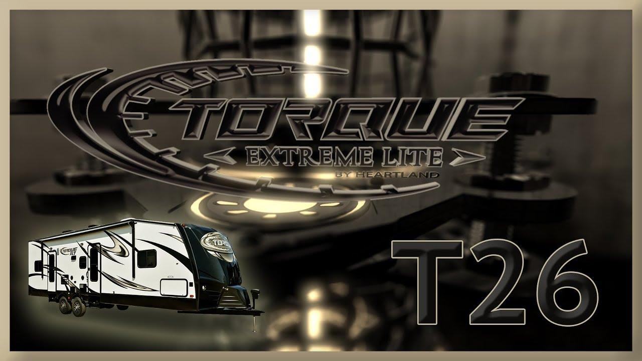 2019 Heartland Torque XLT T26 Toy Hauler For Sale Lakeshore RV