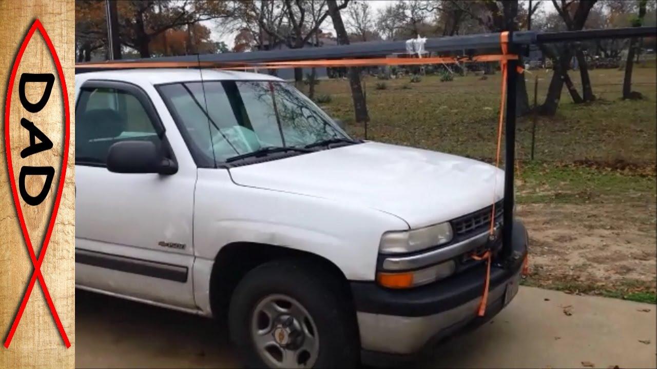 Front Bumper Truck Rack Extender Haul Up To 30ft Steel