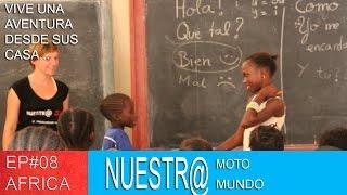 Voluntariado con una ONG en Senegal [SUB ENG] - Vuelta al Mundo en Moto Ep#08