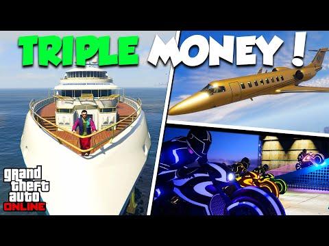 TRIPLE MONEY, DISCOUNTS & NEW CONTENT! | GTA Online Weekly Update
